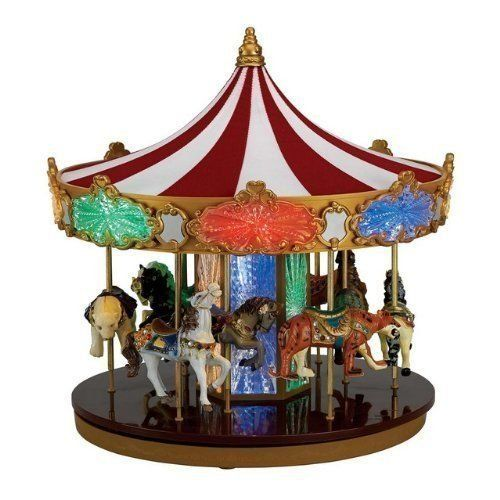 Mr Christmas Celebration Carousel *** You can find out more details - christmas carousel decoration