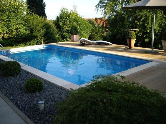 pool selber bauen kosten beispiel Poolbau Pinterest