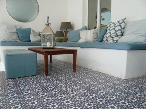 Portugese Tegels Tuin : Portugese en marokkaanse tegels in de tuin interieur inrichting