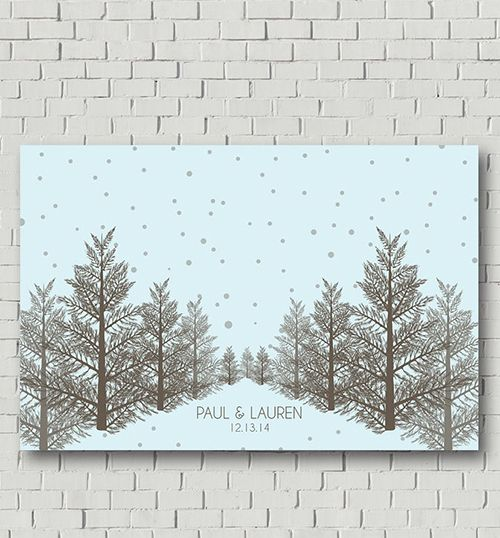 Winter-Inspired Guest Books   Winter Wonderland Wedding   Pinterest ...