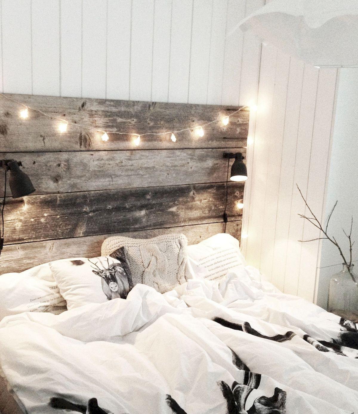 Romantic winter bedroom lighting decoration lighting bedroom