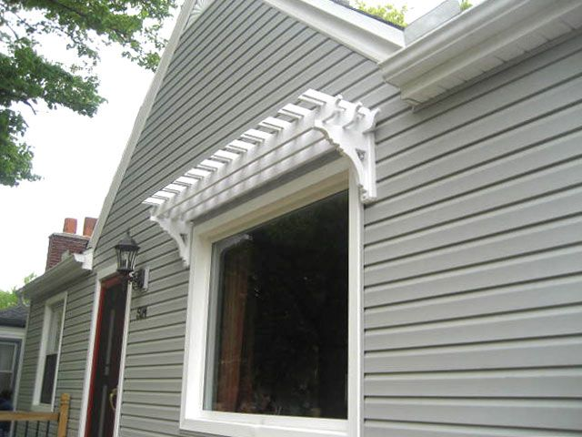 Windows Window Trellises Pergola Garden Canopy
