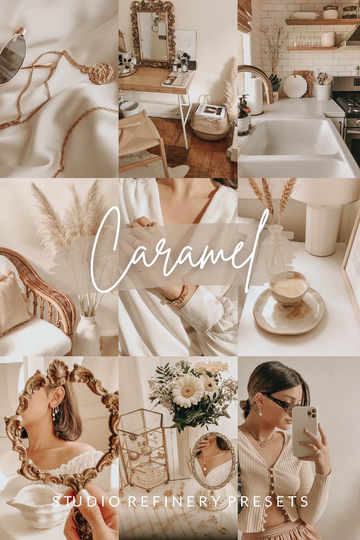 Caramel Lightroom Presets, Creamy Presets, VSCO Filters, Beige Aesthetics, Beige Instagram