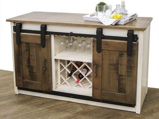 2t Barn Door Wine Server Dutch Craft Furniture Barn Door