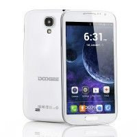 DOOGEE Voyager DG300 5 Inch Android 4.2 Phone - 960x540 QHD IPS Screen, 1.3GHz Dual Core CPU (White) - Online Shop! : Online Shop!