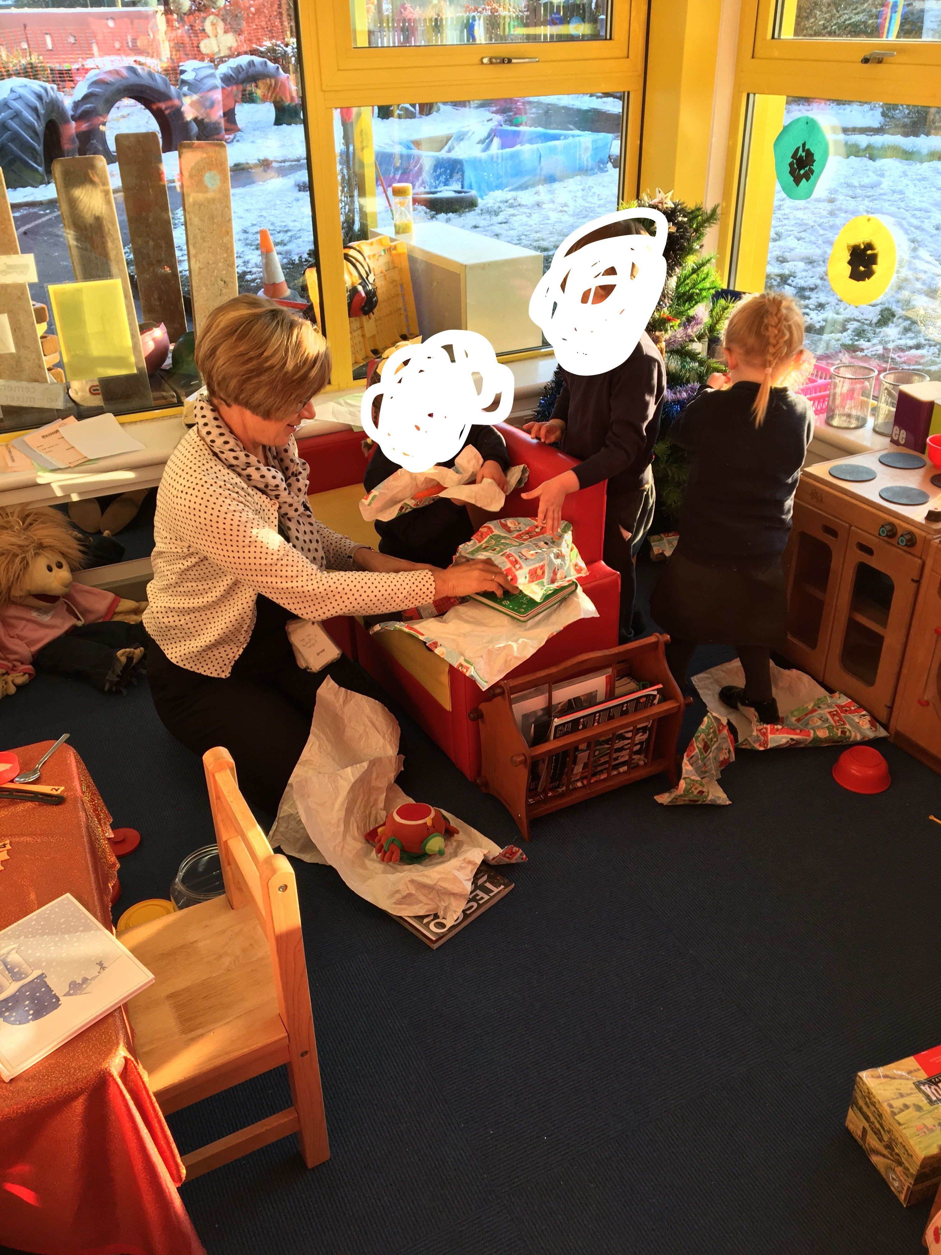 Collaborative Play In The Home Corner