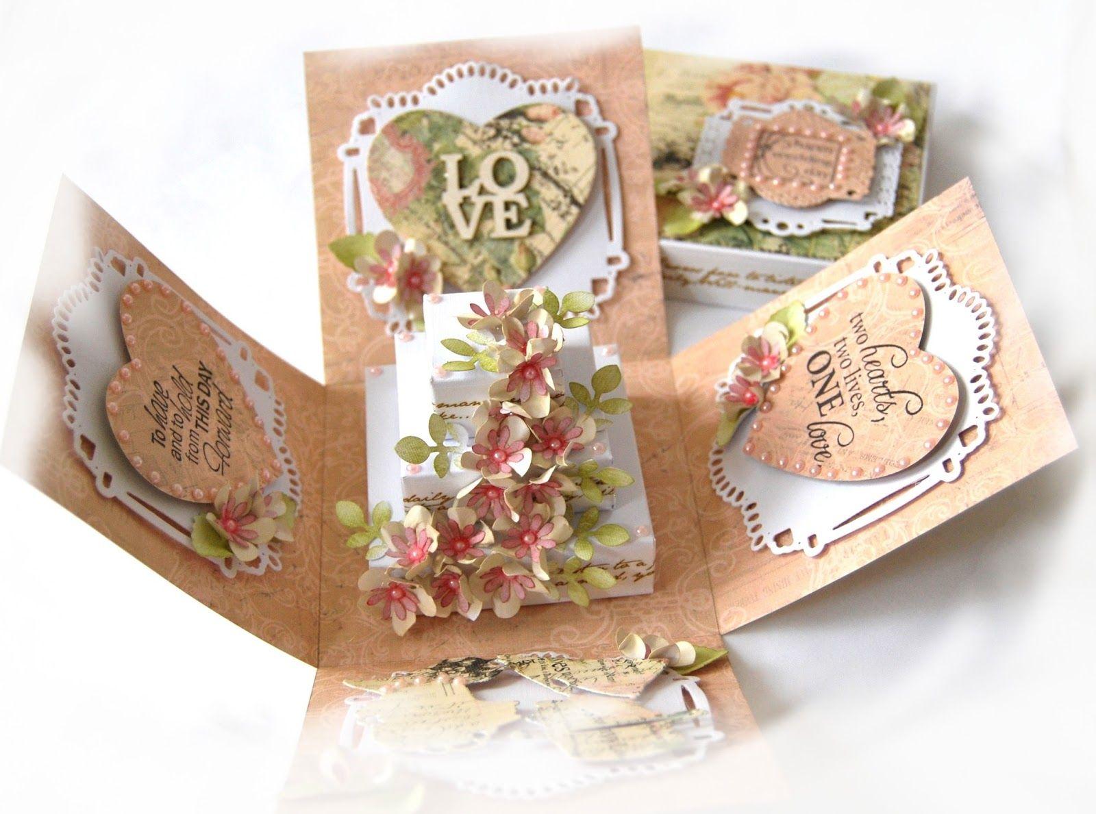 Margot Craft Corner: wedding boxes...