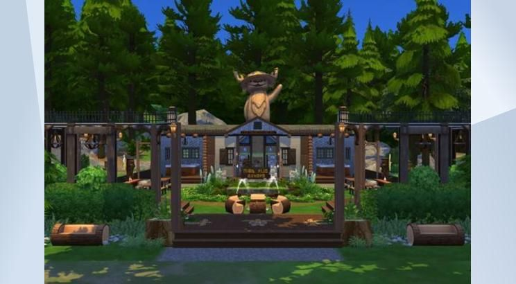The Sims 4 のギャラリーでこの区画をチェック The Sims Sims