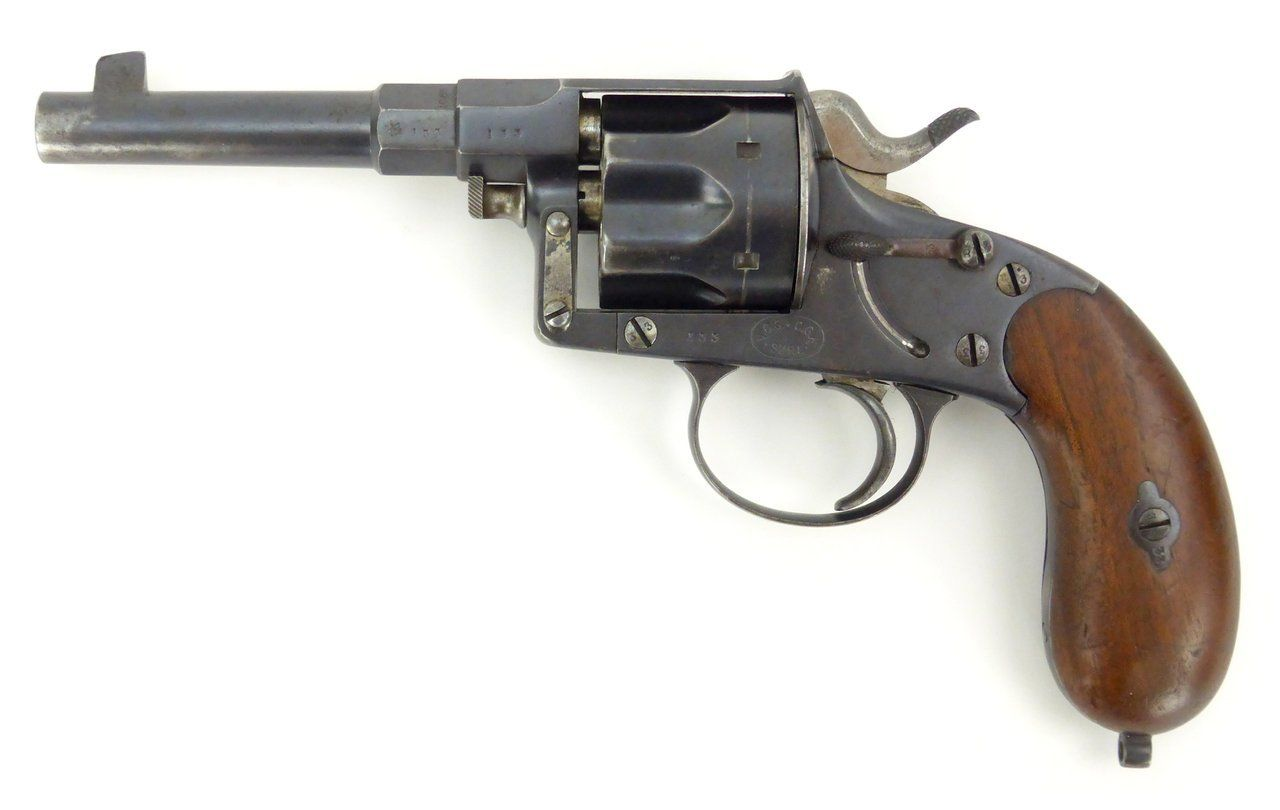 German Model 1883 Reichsrevolver 10 55mm caliber revolver for sale