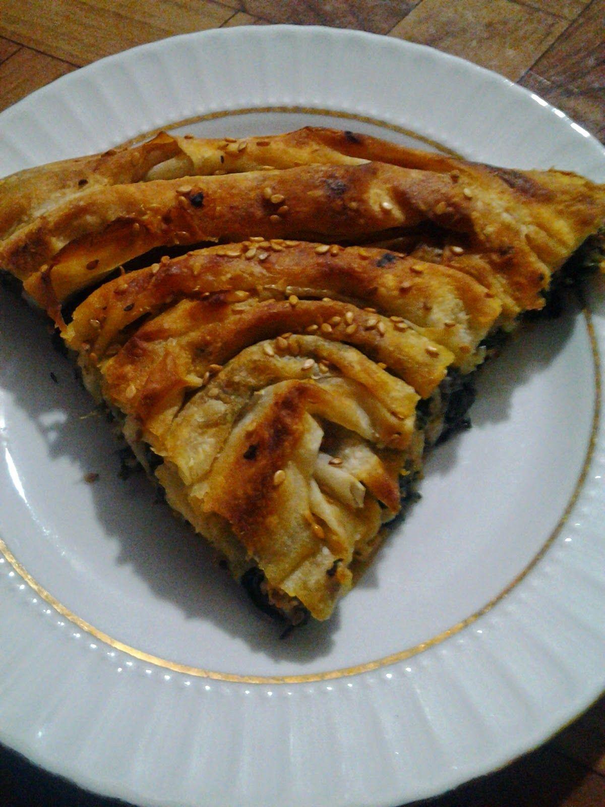 Ispanaklı Börek Tarifi I Ispanaklı Tepsi Böreği