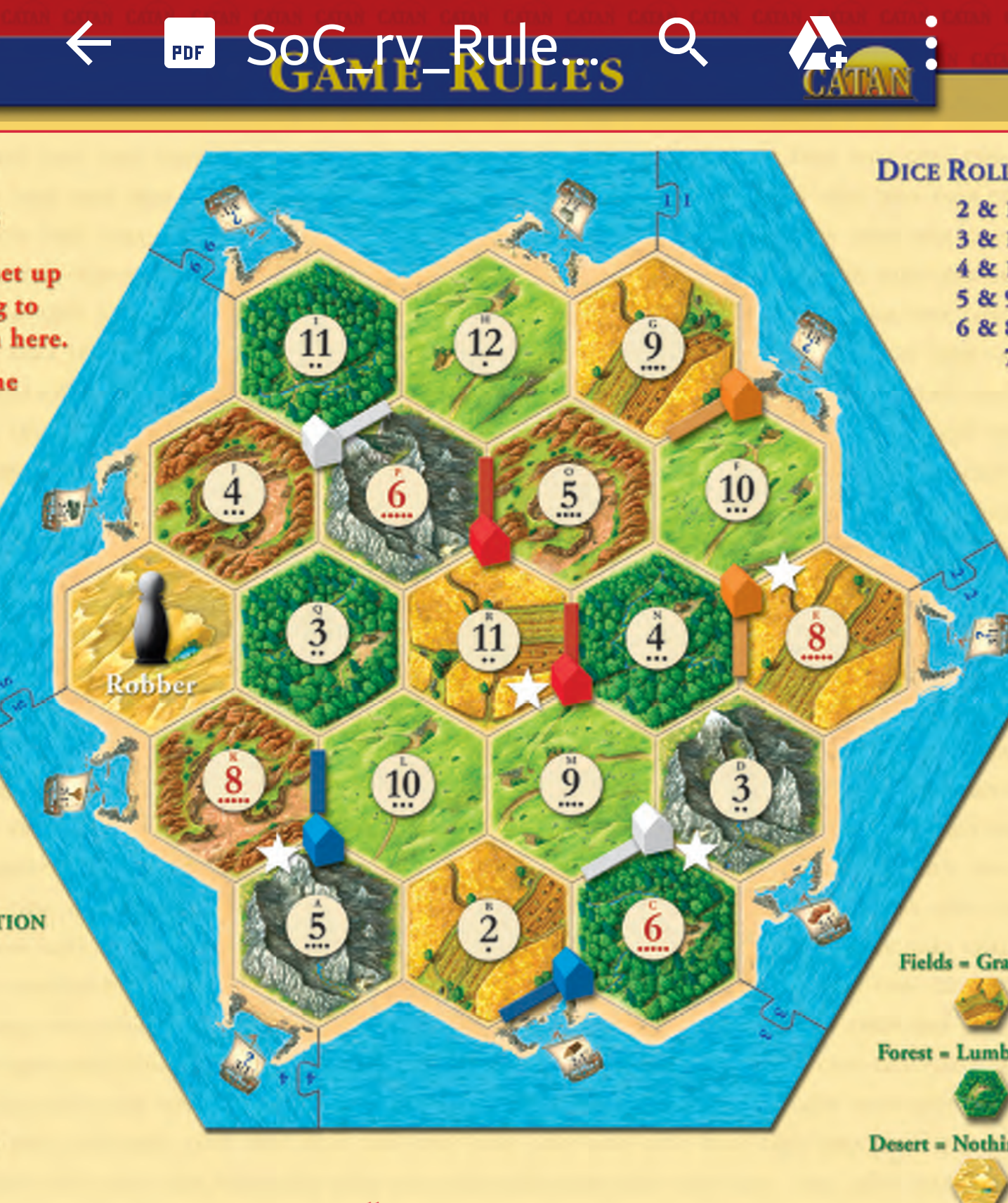 Settlers of Catan Beginner Board Game Setup use for