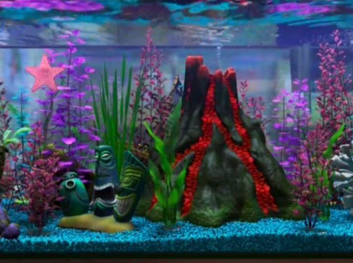 Pix For Finding Nemo Fish Tank Volcano Fish Tank Themes Finding Nemo Fish Tank Fish Tank