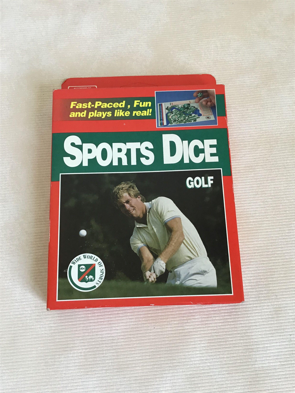 Vintage Sports Dice Golf Game, unopened Vintage sports