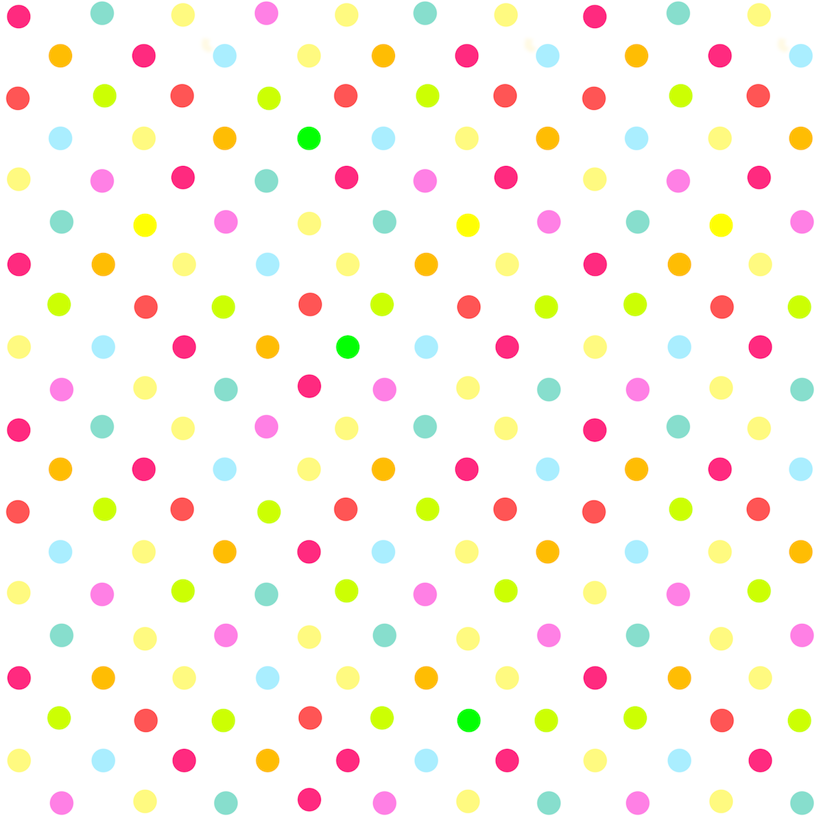 Free digital multicolored polka dot scrapbooking paper