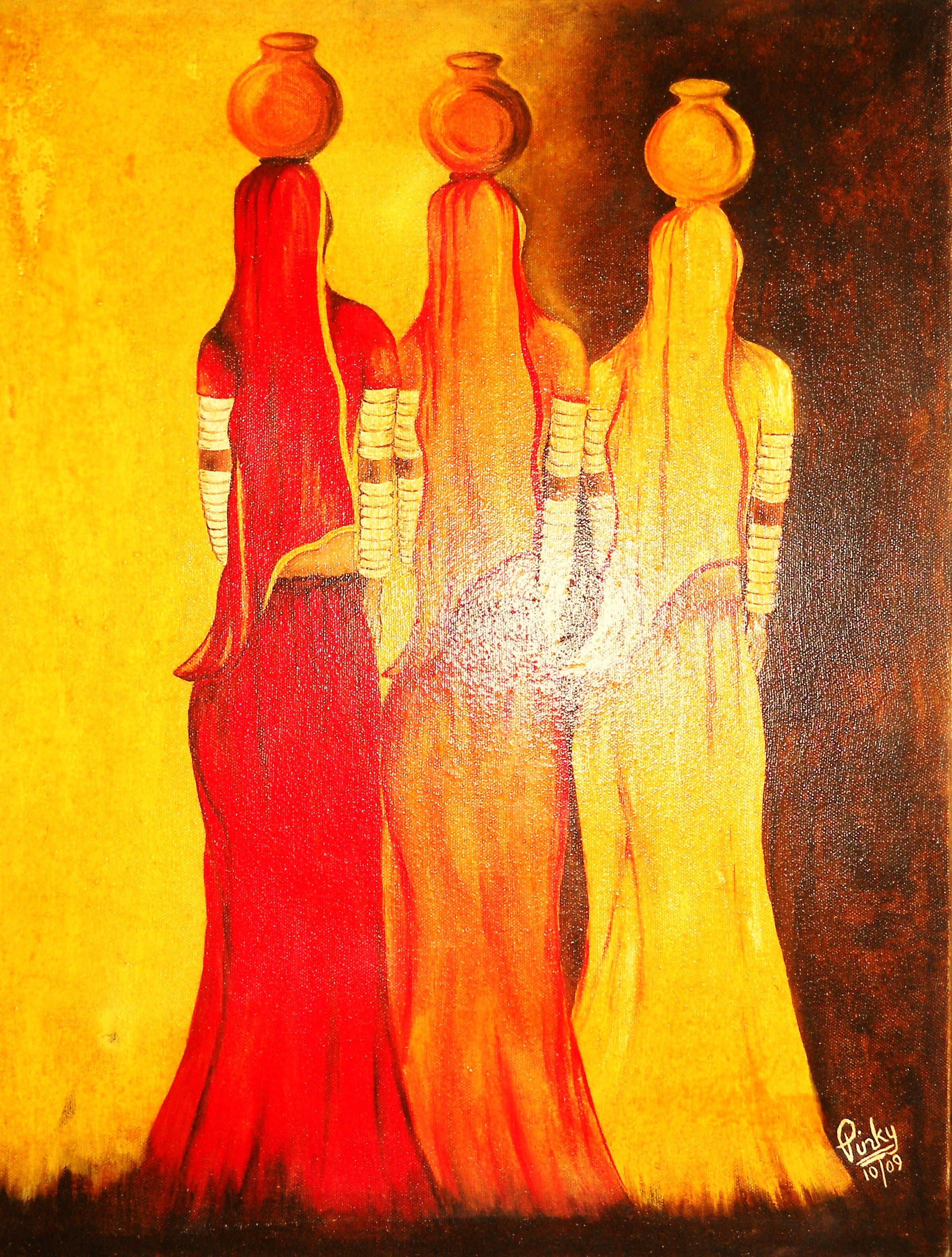best modern art paintings of india - Google Search ...