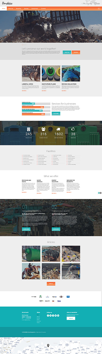 Industrial #Most Popular #Responsive JavaScript Animated / Template