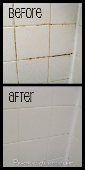 Cleaning Grout With Homemade Cleaner Images