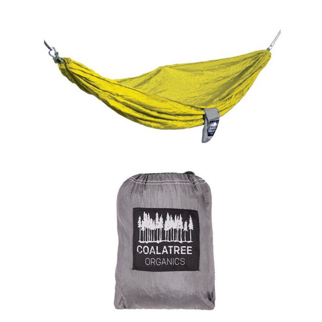 Packable super light parachute nylon hammock weighing only oz