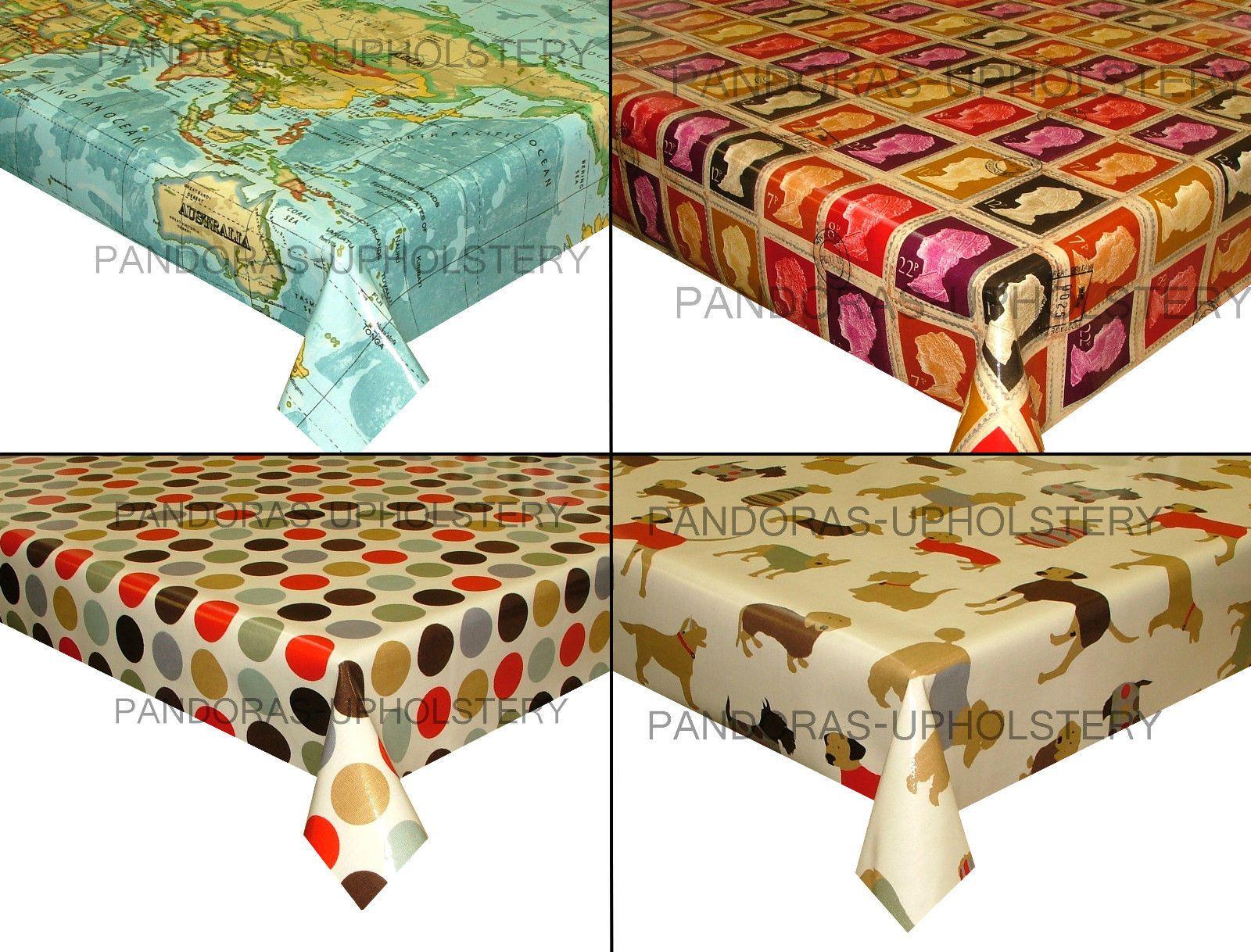 Prestigious Textiles Designer PVC VINYL FABRIC WIPE CLEAN OILCLOTH  TABLECLOTH