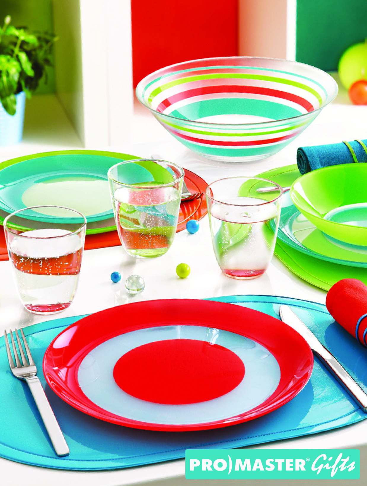Luminarc J7670 19-Piece Simply Colors Glass Dinnerware Set Dishwasher safe Microwave  sc 1 st  Pinterest : colourful dinnerware - pezcame.com
