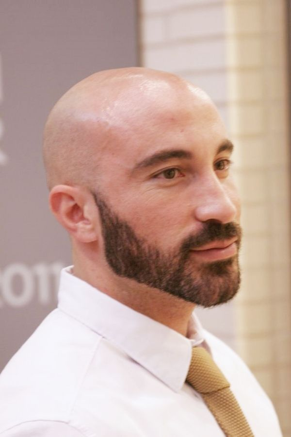 Pin On Bald Men With Beard
