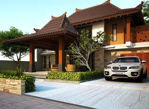 Desain Rumah Joglo Klasik Kontemporer Dan Morern Desain Rumah Minimalis Desain Arsitektur Arsitektur Arsitek