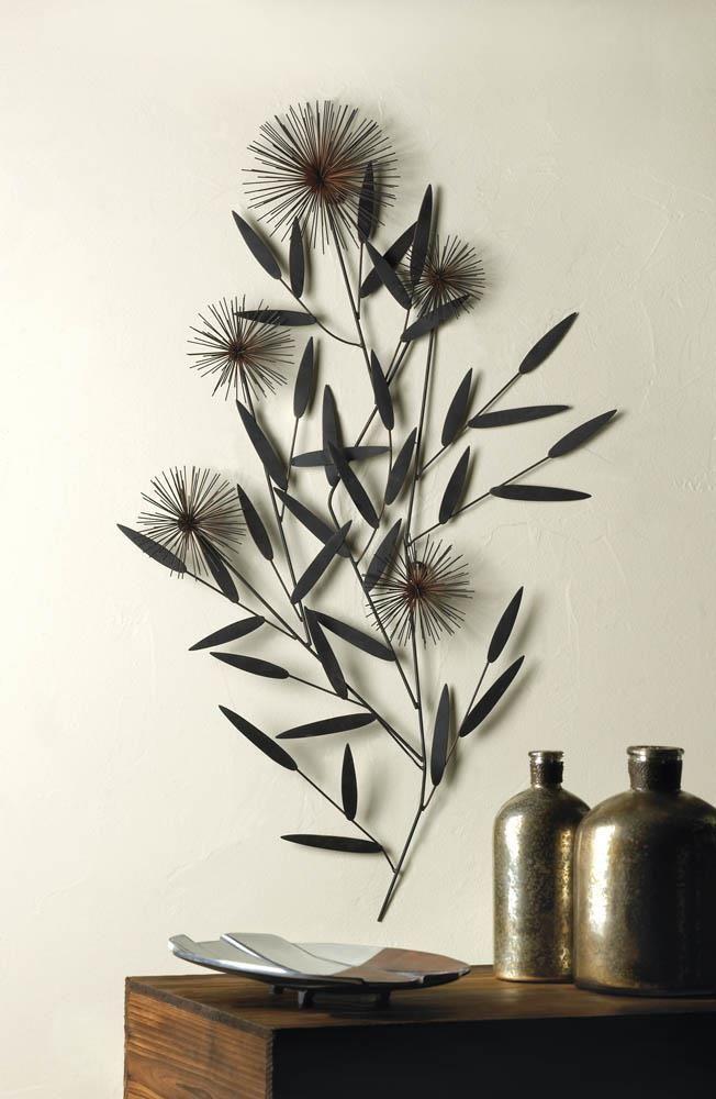 Whole Artistic Wrought Iron Dandelion Wall Decor