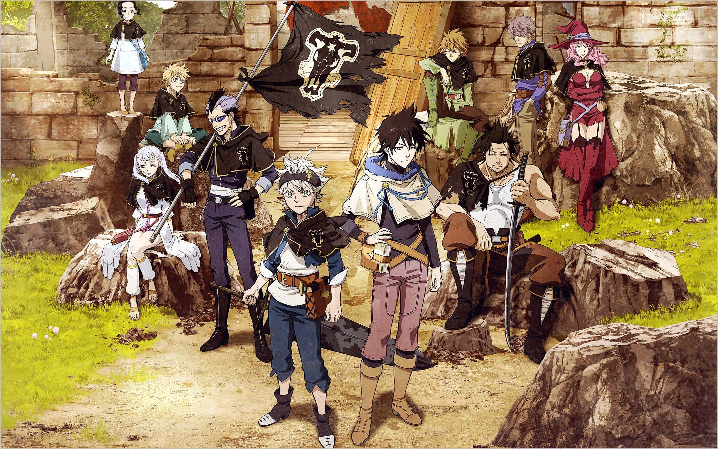 Zenon Black Clover Wallpaper 4k - Anime Wallpaper HD