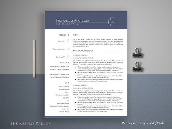 Nice Resume Template  Page  Medical Cv Creativework  Fonts