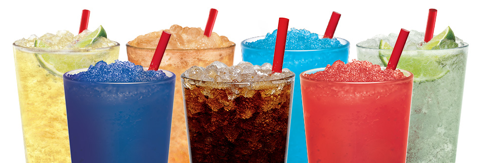 Get $0.99 large drinks and slushes at Sonic every day until 10 a.m.!
