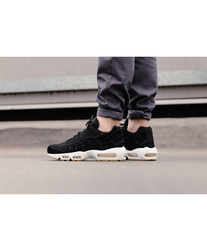best service 7dee5 0146d Nike Air Max 95 Prm Black Black Muslin White Cheap Give you a chance that is