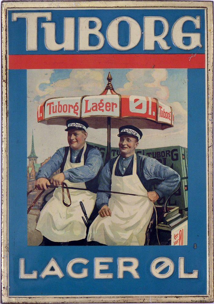 Tuborg Poster Retroplakater Vintage Plakater Illustration