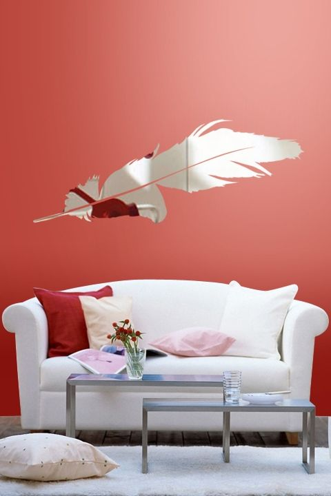 furniture Reflective Wall Decals by WALLTAT | Lights & Mirrors ...