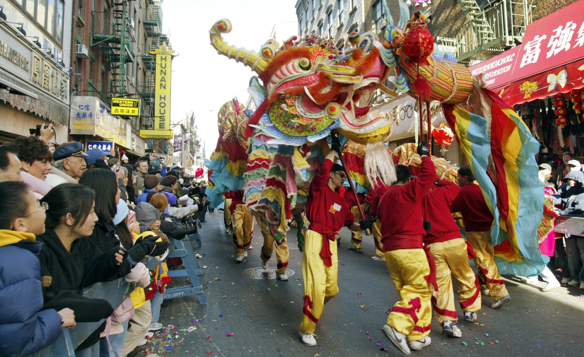 Happy Lunar New Year Facts About The Year Of The Sheep Chinatown Nyc Chinese New Year Parade New Years Parade