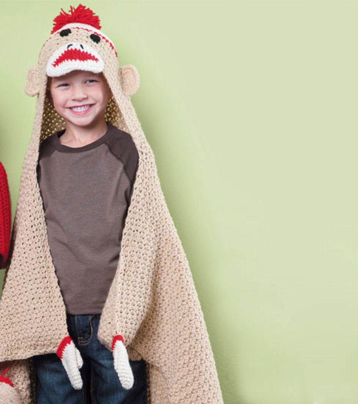 Make Red Heel Sock Monkeys and Elephants | Monkey, Blanket and Socks