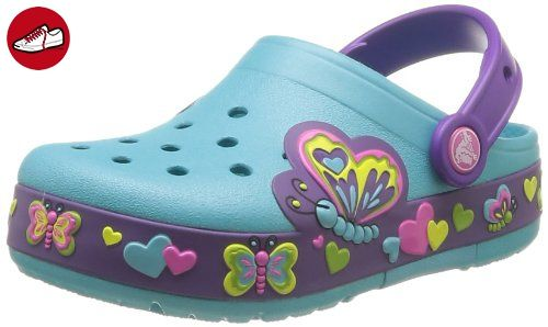 crocs Kinder Unisex 204118 Clogs, Blau (Multi Color Blue), 30/31 EU