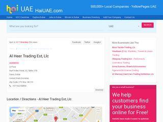 Al Heer Trading Est Llc Naif Index Hotel 32 Sikka 37b G Floor