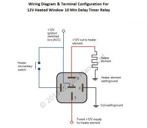 Digital Timer Relay Wiring. Apexi Turbo Timer Wiring, Omron ... on