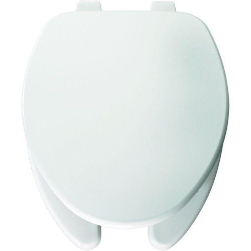 Bemis 595 000 Elongated Open Front Toilet Seat White Check Out