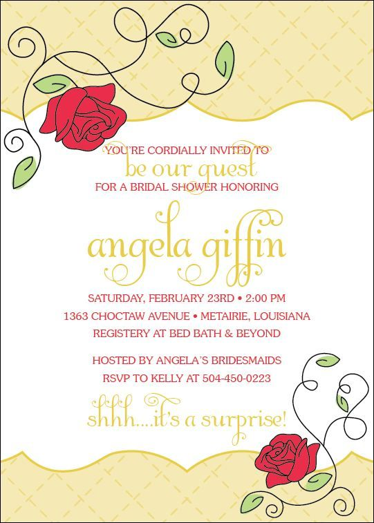 Beauty And The Beast Invitation Party Planning Pinterest