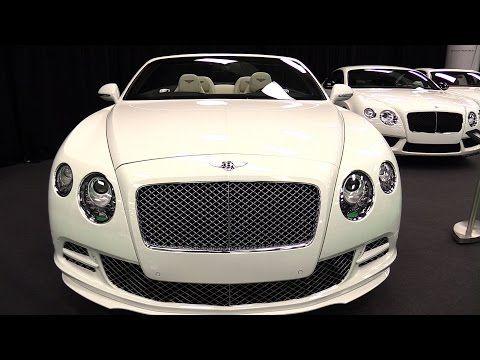 2015 Bentley Continental GT Speed Convertible - Walkaround - 2015 ...
