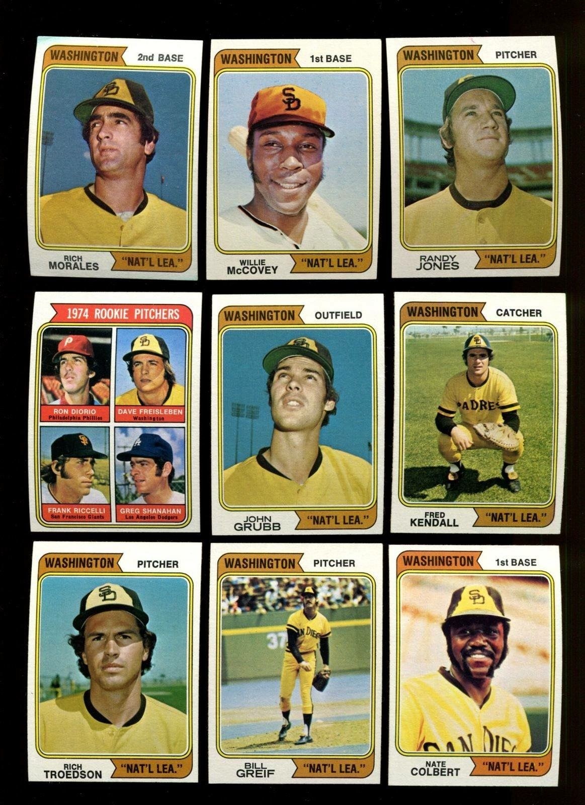 Pin By Ken Duman On Cards I Had When I Was A Kid Padres Baseball San Diego Padres Baseball Mlb Baseball