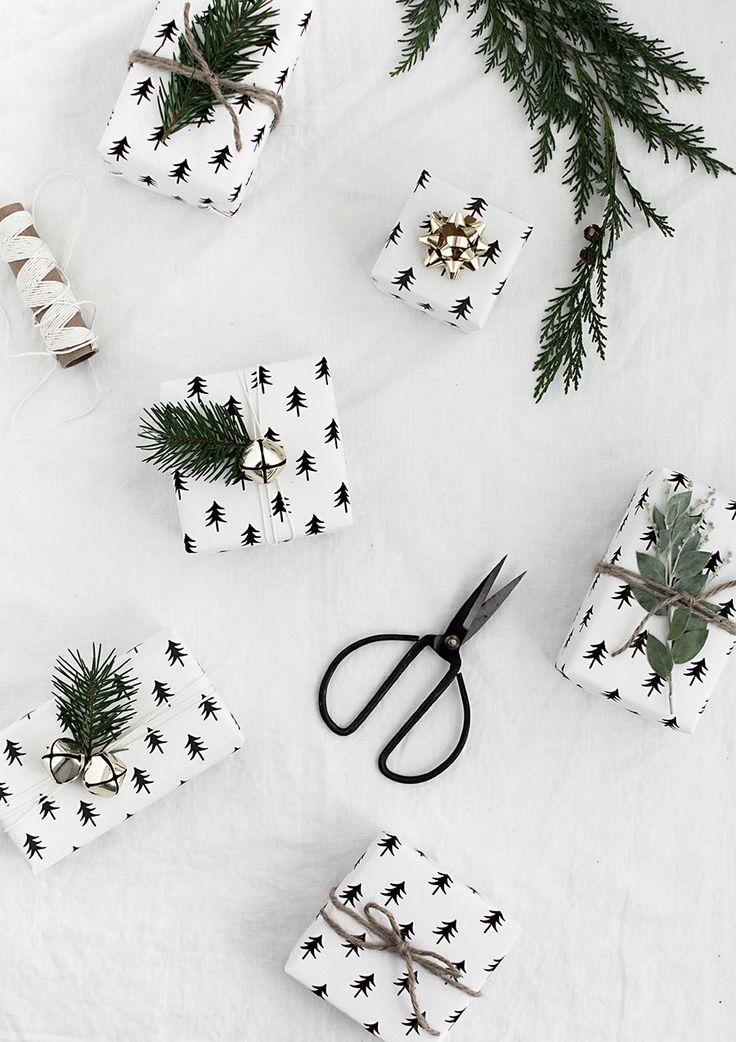 Free Gift Wrap Paper Download Modern Scandinavian Design Christmas Wrapping Diy Christmas Wrapping Paper Christmas Wrapping