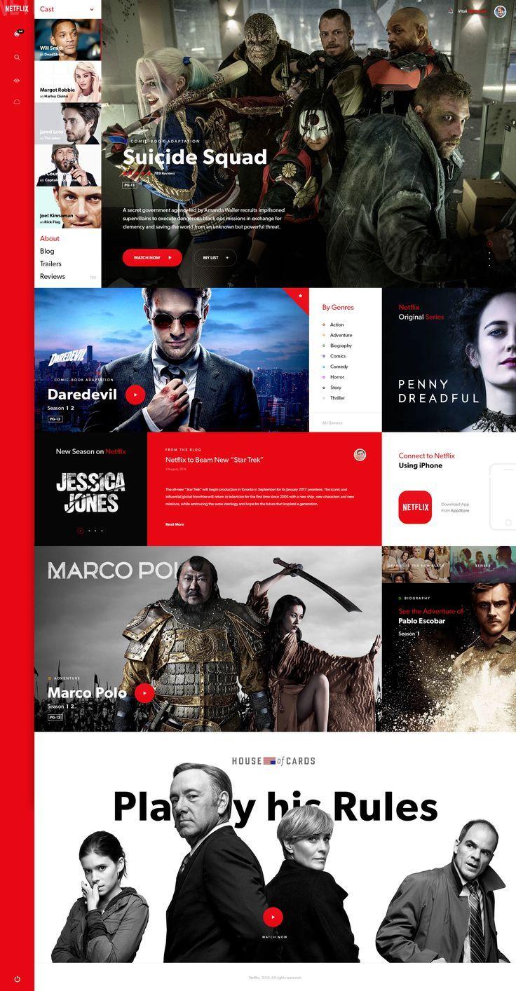 Pin Di Website Redesign Inspiration