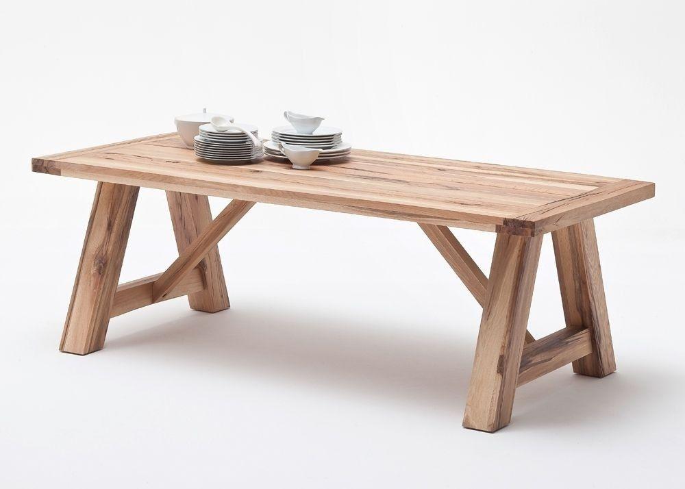 Esstisch Massiv Bristol Esszimmertisch Holz Wildeiche 9139. Buy now ...