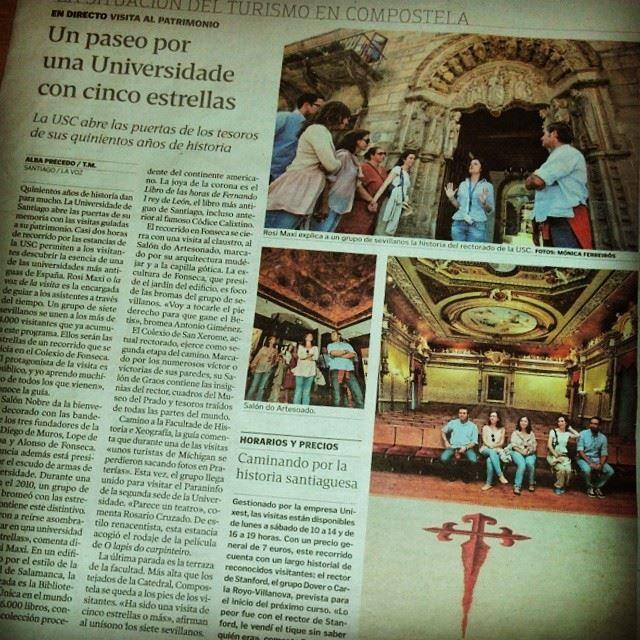 La Voz De Galicia Edición Santiago De Compostela 16 Agosto 2013 Turismo Santiago De Compostela Historia