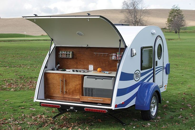 30 Awesome Small Teardrop Camper Trailer Designs With Images