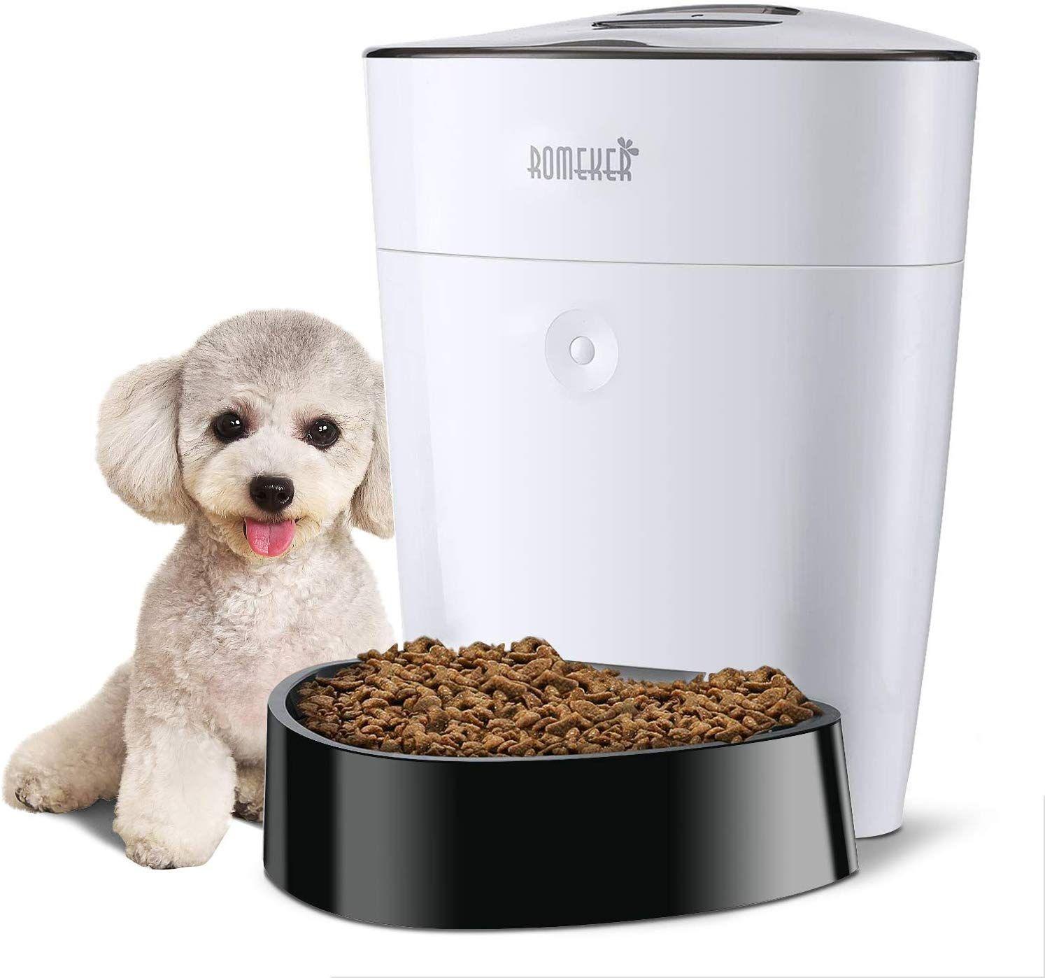 ROMEKER Automatic Cat Feeder 4L Smart Pet Feeder Auto Dog