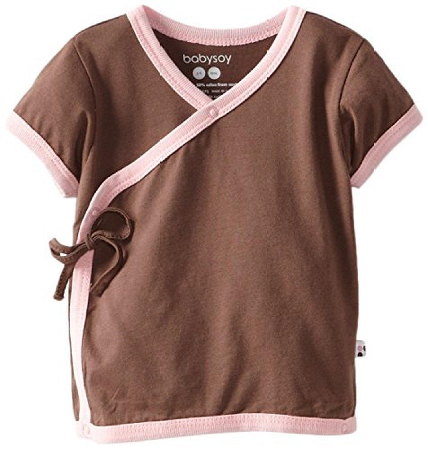 Babysoy Unisex-Baby Kimono Tee