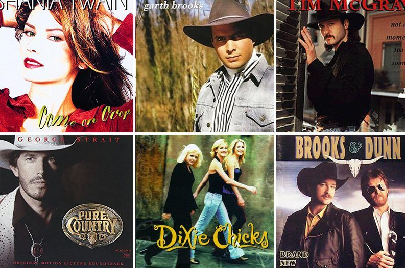 The 50 Best-Selling Country Albums of All Time | Music | All
